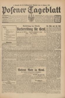 Posener Tageblatt. Jg.70, Nr. 10 (14 Januar 1931) + dod. [po konfiskacie]