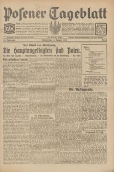 Posener Tageblatt. Jg.70, Nr. 11 (15 Januar 1931) + dod.
