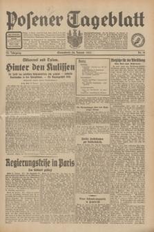 Posener Tageblatt. Jg.70, Nr. 19 (24 Januar 1931) + dod.