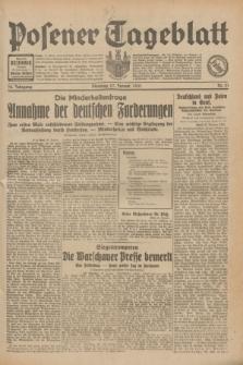 Posener Tageblatt. Jg.70, Nr. 21 (27 Januar 1931) + dod.