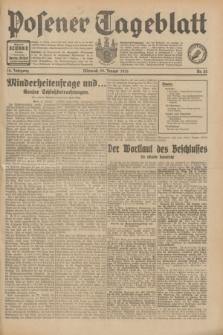 Posener Tageblatt. Jg.70, Nr. 22 (28 Januar 1931) + dod.