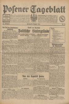 Posener Tageblatt. Jg.70, Nr. 24 (30 Januar 1931) + dod.