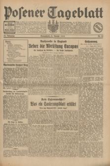 Posener Tageblatt. Jg.70, Nr. 25 (31 Januar 1931) + dod.