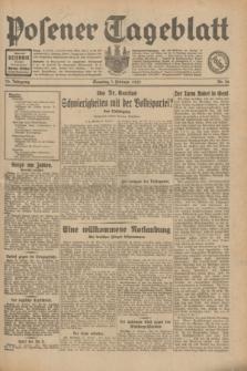 Posener Tageblatt. Jg.70, Nr. 26 (1 Februar 1931) + dod.