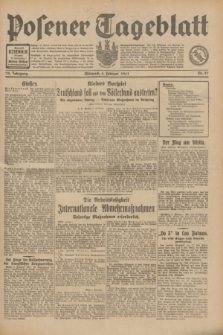 Posener Tageblatt. Jg.70, Nr. 27 (4 Februar 1931) + dod.