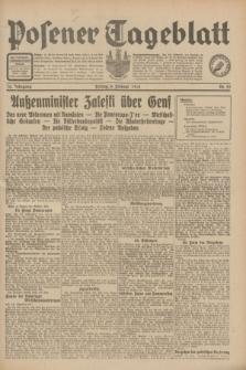 Posener Tageblatt. Jg.70, Nr. 29 (6 Februar 1931) + dod.
