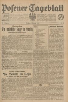 Posener Tageblatt. Jg.70, Nr. 31 (8 Februar 1931) + dod.