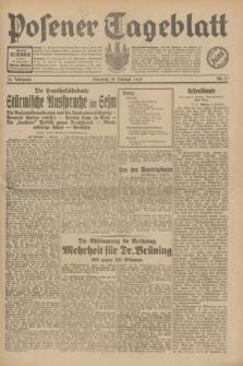 Posener Tageblatt. Jg.70, Nr. 32 (10 Februar 1931) + dod.