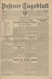 Posener Tageblatt. Jg.70, Nr. 35 (13 Februar 1931) + dod.