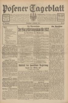 Posener Tageblatt. Jg.70, Nr. 38 (17 Februar 1931) + dod.