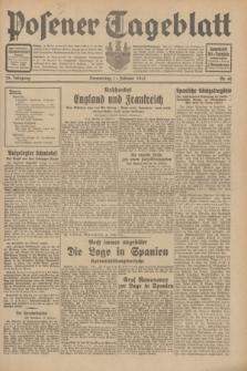 Posener Tageblatt. Jg.70, Nr. 40 (19 Februar 1931) + dod.