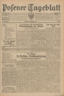 Posener Tageblatt. Jg.70, Nr. 41 (20 Februar 1931) + dod.