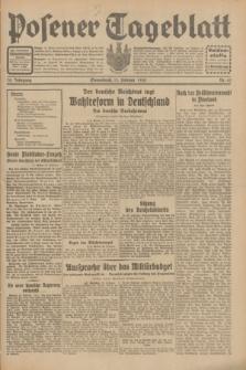 Posener Tageblatt. Jg.70, Nr. 42 (21 Februar 1931) + dod.