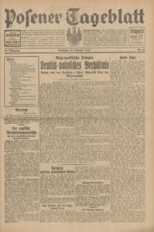 Posener Tageblatt. Jg.70, Nr. 43 (22 Februar 1931) + dod.