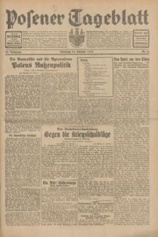 Posener Tageblatt. Jg.70, Nr. 44 (24 Februar 1931) + dod.