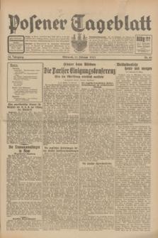 Posener Tageblatt. Jg.70, Nr. 45 (25 Februar 1931) + dod.