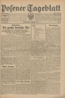 Posener Tageblatt. Jg.70, Nr. 46 (26 Februar 1931) + dod.