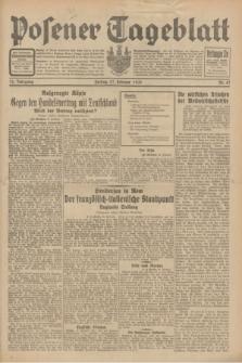 Posener Tageblatt. Jg.70, Nr. 47 (27 Februar 1931) + dod.