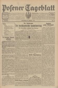 Posener Tageblatt. Jg.70, Nr. 48 (28 Februar 1931) + dod.