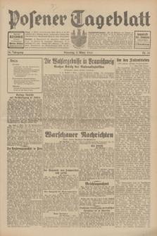 Posener Tageblatt. Jg.70, Nr. 50 (3 März 1931) + dod.