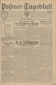 Posener Tageblatt. Jg.70, Nr. 52 (5 März 1931) + dod.