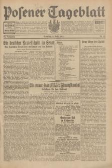 Posener Tageblatt. Jg.70, Nr. 55 (8 März 1931) + dod.