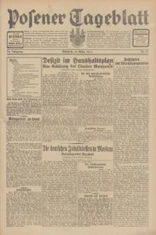 Posener Tageblatt. Jg.70, Nr. 57 (11 März 1931) + dod.