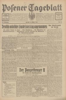 Posener Tageblatt. Jg.70, Nr. 59 (13 März 1931) + dod.