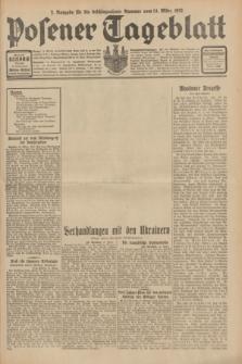 Posener Tageblatt. Jg.70, Nr. 60 (14 März 1931) + dod. [po konfiskacie]