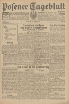 Posener Tageblatt. Jg.70, Nr. 63 (18 März 1931) + dod.