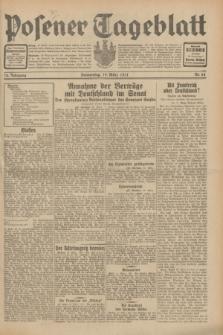 Posener Tageblatt. Jg.70, Nr. 64 (19 März 1931) + dod.