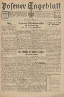 Posener Tageblatt. Jg.70, Nr. 66 (21 März 1931) + dod.