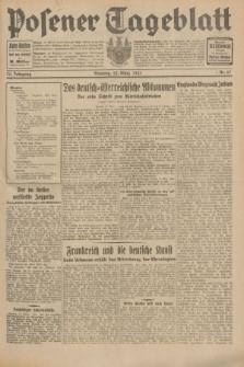 Posener Tageblatt. Jg.70, Nr. 67 (22 März 1931) + dod.