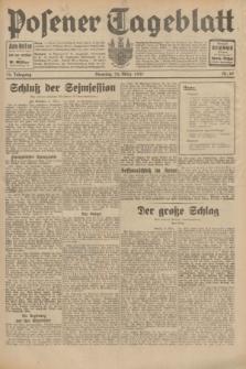 Posener Tageblatt. Jg.70, Nr. 68 (24 März 1931) + dod.