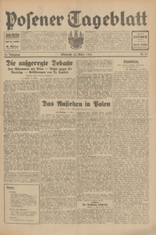 Posener Tageblatt. Jg.70, Nr. 69 (25 März 1931) + dod.