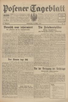 Posener Tageblatt. Jg.70, Nr. 70 (26 März 1931) + dod.