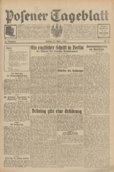 Posener Tageblatt. Jg.70, Nr. 71 (27 März 1931) + dod.