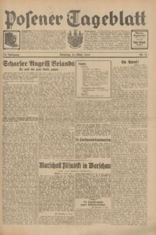Posener Tageblatt. Jg.70, Nr. 74 (31 März 1931) + dod.