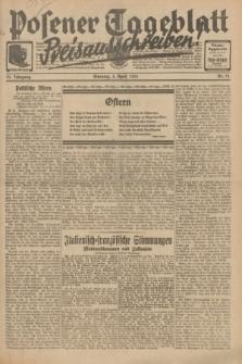 Posener Tageblatt. Jg.70, Nr. 78 (5 April 1931) + dod.