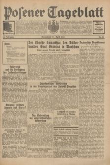 Posener Tageblatt. Jg.70, Nr. 88 (18 April 1931) + dod.