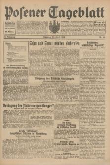 Posener Tageblatt. Jg.70, Nr. 90 (21 April 1931) + dod.