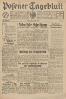Posener Tageblatt. Jg.70, Nr. 93 (24 April 1931) + dod.