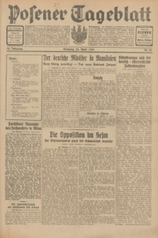 Posener Tageblatt. Jg.70, Nr. 95 (26 April 1931) + dod.