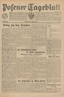 Posener Tageblatt. Jg.70, Nr. 97 (29 April 1931) + dod.