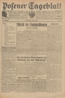 Posener Tageblatt. Jg.70, Nr. 101 (3 Mai 1931) + dod.