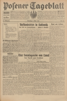 Posener Tageblatt. Jg.70, Nr. 102 (5 Mai 1931) + dod.
