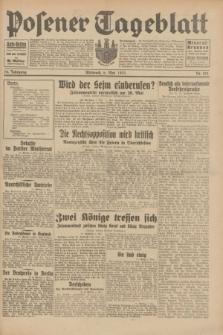 Posener Tageblatt. Jg.70, Nr. 103 (6 Mai 1931) + dod.
