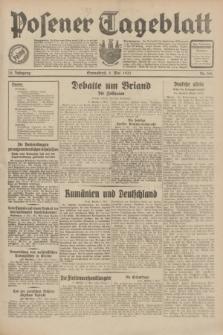 Posener Tageblatt. Jg.70, Nr. 106 (9 Mai 1931) + dod.