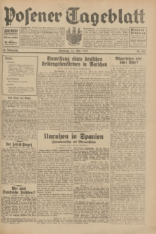 Posener Tageblatt. Jg.70, Nr. 108 (12 Mai 1931) + dod.