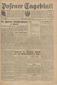 Posener Tageblatt. Jg.70, Nr. 110 (14 Mai 1931) + dod.